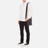 Aspinal of London Men's Harrison Small Messenger Bag - Black: Image 2