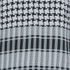 House of Holland Women's Afghan Check Long Sleeve Top - Black/White: Image 3