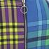 House of Holland Women's Cross Over Tartan Dress - Blue/Purple/Tartan: Image 3