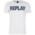 REPLAY Men's Printed Crew Neck T-Shirt - Optical White: Image 1
