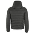 REPLAY Men's Padded Zipped Jacket - Dark Warm Grey: Image 2