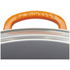 Le Creuset Cast Iron Wok with Glass Lid - 32cm - Volcanic: Image 3