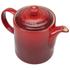Le Creuset Stoneware Grand Teapot, 1.3L - Cerise: Image 2