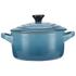 Le Creuset Stoneware Petite Casserole Dish - Teal: Image 1