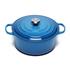 Le Creuset Signature Cast Iron Round Casserole Dish - 28cm - Marseille Blue: Image 1