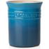 Le Creuset Stoneware Small Utensil Jar - Marseille Blue: Image 1