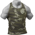 GASP Utility Rib T-Back Vest - Grey Camoprint: Image 1