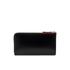 Lulu Guinness Women's Zip Around Polished Calf Leather Purse - Black: Image 2