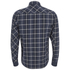 Carhartt Men's LS Sampras Shirt Rib-Knit Cuff - Labor Blue Heather: Image 2