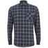 Carhartt Men's LS Sampras Shirt Rib-Knit Cuff - Labor Blue Heather: Image 1