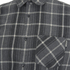 Carhartt Men's LS Sampras Shirt Rib-Knit Cuff - Dark Grey Heather: Image 3