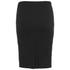 nümph Womens Ribbed Pencil Skirt - Caviar: Image 2