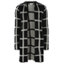 nümph Womens Checked Long Cardigan - Caviar: Image 1