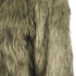 nümph Womens Fake Fur Box Jacket - Brown: Image 3