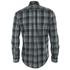 GANT Men's Heather Twill Long Sleeve Shirt - Dark Charcoal Melange: Image 2