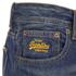 Superdry Men's Officer Denim Jeans - Monty Blue Light: Image 6