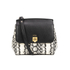 Lauren Ralph Lauren Women's Whitby Embossed Snake Small Cross Body - Snake Print/Black: Image 1