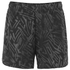 Asics Women's Woven 5.5 Inch Running Shorts - Black Palm: Image 1