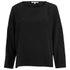 Helmut Lang Women's Raw Details Long Sleeve Top - Black: Image 1