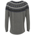 French Connection Women's Fran Fairisle Crew Neck Jumper - Grey Melange: Image 2