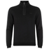 BOSS Green Men's Sweatshirt 1 Nylon Combi Hoody - Black: Image 1