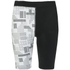 Skins Women's A200 Compression Shorts - Black/Logo: Image 1