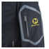 Merrell Capra Shell Jacket - Black/Sulphur: Image 3