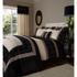Catherine Lansfield Geo Embellished Pillowcases - Black: Image 2
