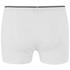Wolsey Men's Twin Pack Keyhole Boxer Shorts - White: Image 3