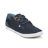 Boxfresh Men's Stern Waxed Canvas Low Top Trainers - Navy/White: Image 4