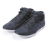 Boxfresh Men's Swapp 3 Prem Chambray/Suede High Top Trainers - Navy: Image 1