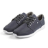 Boxfresh Men's Struct Ripstop Low Top Trainers - Navy/White: Image 1