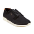 Boxfresh Men's Cowl Garment Dye/Suede Low Top Trainers - Black: Image 4