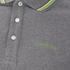 Animal Men's Pique Polo Shirt - Charcoal Grey Marl: Image 3