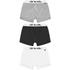 Animal Men's Asta 3-Pack Boxers - Black/White/Grey: Image 1