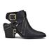 Senso Women's Owen I Leather Heeled Ankle Boots - Ebony: Image 1