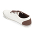 Jack & Jones Men's Vision Mix Canvas Pumps - Marshmallow: Image 4