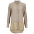 Vero Moda Women's Lotus Long Sleeve Long Shirt - Silver Mink: Image 1