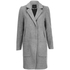 Y.A.S. Women's Monday Coat - Light Grey Melange: Image 1