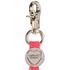 Charlotte Simone Women's Gobstopper Keyring - Black/Silver Fox/Pink Mix Pom: Image 3