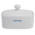Keith Brymer Jones Butter Dish - White: Image 1