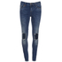 ONLY Women's Ultimate Skinny Jeans - Medium Blue Denim: Image 1