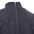 ONLY Women's 3/4 High Neck Zip Top - Night Sky: Image 3
