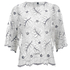Ganni Women's Lace Blouse - Vanilla Ice: Image 1