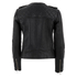 Selected Femme Women's Isabello Leather Jacket - Black: Image 2