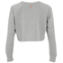 MINKPINK Women's Don't Care Cropped Jumper - White: Image 2