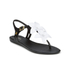 Melissa Women's Solar Hawaii Sandals - Black Contrast: Image 5