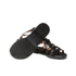Melissa Women's Flox Print Strappy Sandals - Black Tortoiseshell: Image 6