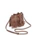 Rebecca Minkoff Women's Fringe Micro Lexi Bucket Bag - Almond: Image 2