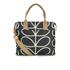Orla Kiely Women's Stem Zip Messenger Bag - Black: Image 1